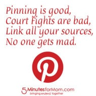 Pin It Friday – Pinning Is Good