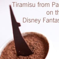 Wordless Wednesday — Tiramisu from Palo on the Disney Fantasy