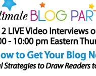 Don't Miss Our Final #UBP12 LIVE Spreecast Event TONIGHT!