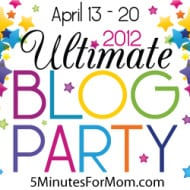 Ultimate Blog Party 2012 Featured Prize Winners