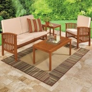 Stylish Summer with BrylaneHome Outdoor Furniture