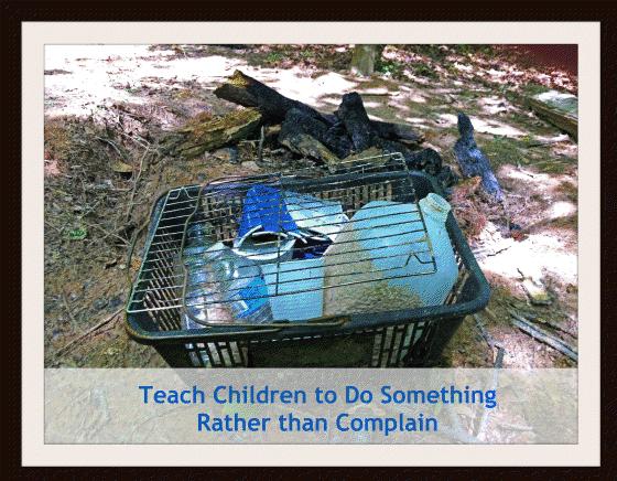 Teach Children To Stop Complaining