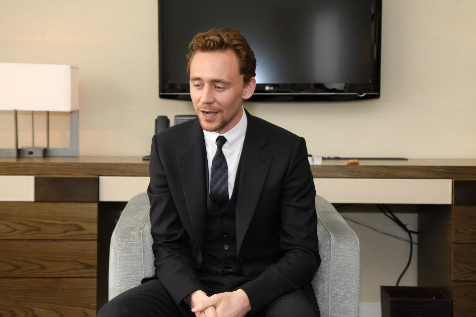 Marvel's The Avengers-Interview with Tom Hiddleston - 5