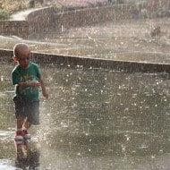 Playing in the Rain {Guest Post}
