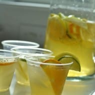 White Sangria Two Ways