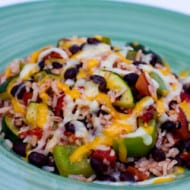 Ready, Set, Eat – Zucchini, Black Bean and Rice Skillet