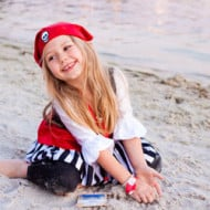 Wordless Wednesday — Pirate Girl