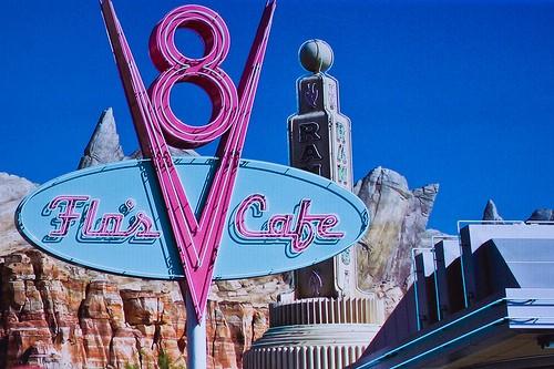 Flo's Cafe - Disney Cars Land Red Carpet event