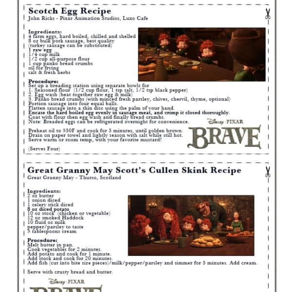 Scotch Egg and Cullen Skink – Disney/Pixar-Themed Scottish Recipes