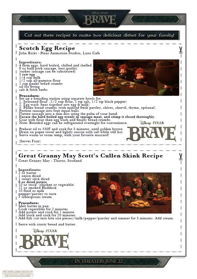 Scotch eggs and Cullen Skink - Brave recipes