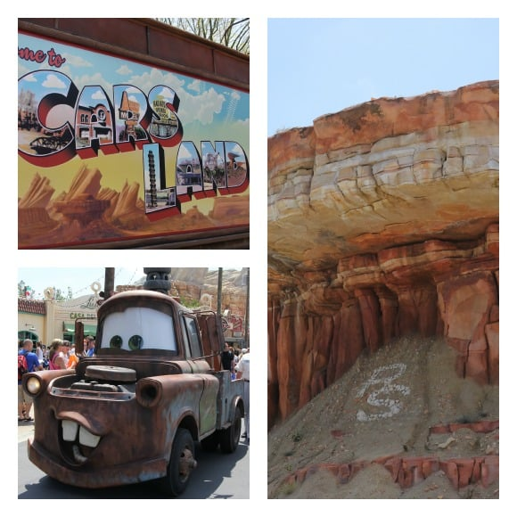 Cars Land Laura Collage