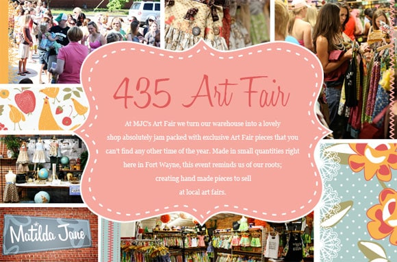 Matilda Jane Clothing 435 Art Fair