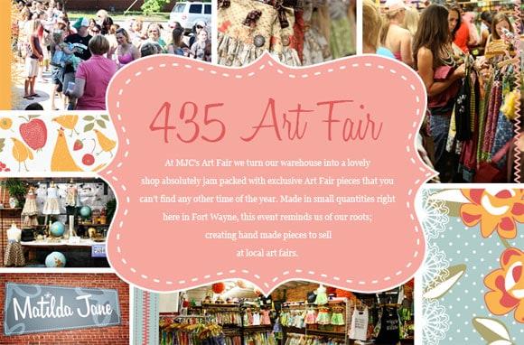 Matilda Jane Clothing 435 Art Fair