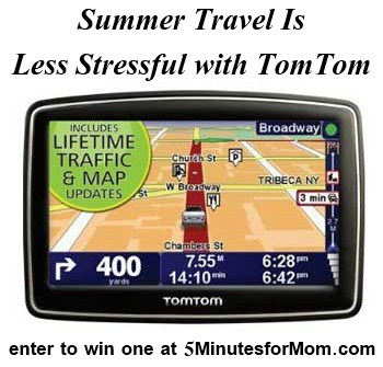 Summer Travel Is Less Stressful with TomTom Giveaway