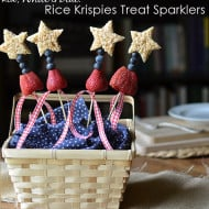Making Everyday Food Special: Rice Krispies Treat Sparklers