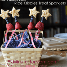 Rice Krispies Treat Sparklers