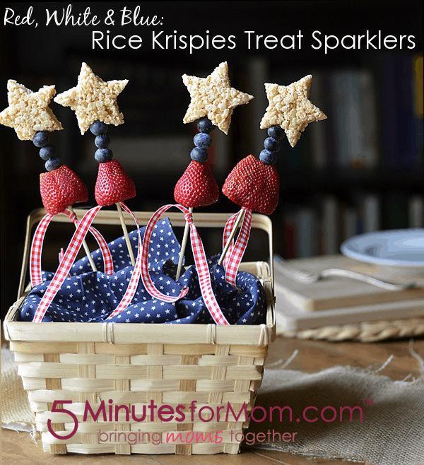 Rice Krispies Treat Sparklers