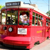 Fun Facts About the Red Car Trolleys at Disney California Adventure