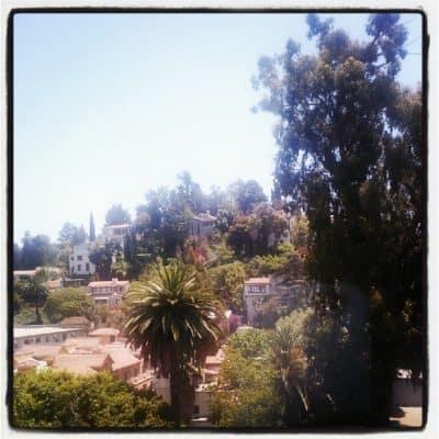 view from Hilton Garden Inn