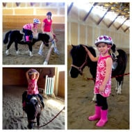 Olivia is Afraid of Her Bike, But Wants to Run Off on a Horse
