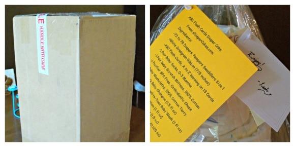 eDiaperCakes packaging