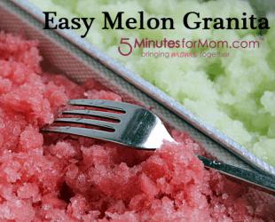 Easy Melon Granita