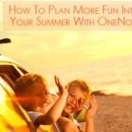 How To Plan More Fun Into Your Summer With OneNote