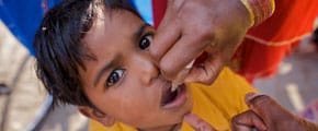 Join Rotary International to End Polio Now