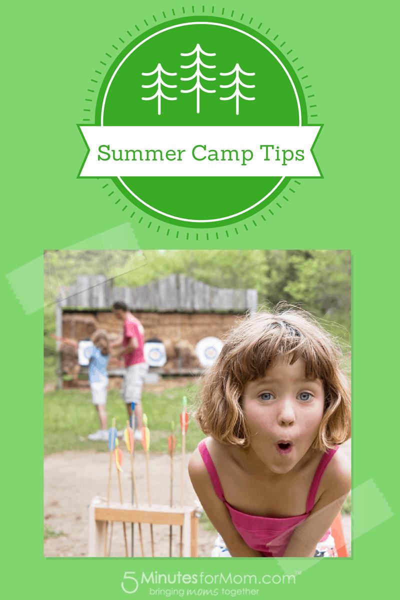 summer camp tips