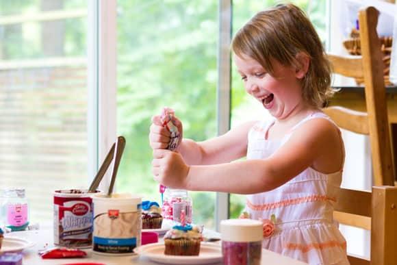 Wordless Wednesday - Cupcake Fun