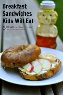 Breakfast Sandwiches Kids Will Eat