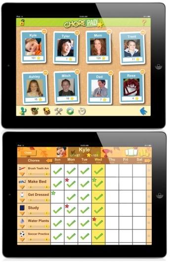Chore Pad HD app