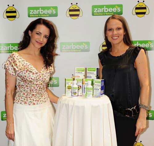 Kristin Davis with Janice Croze