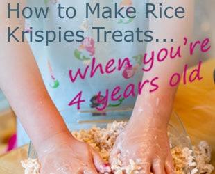 How To Make Rice Krispies Treats…
