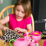 Tea Parties and Eye Shadow — Should Little Girls Play with Makeup?