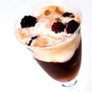 Blackberry Liqueur Float