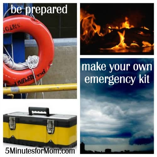 How-To Create a Family Emergency Kit