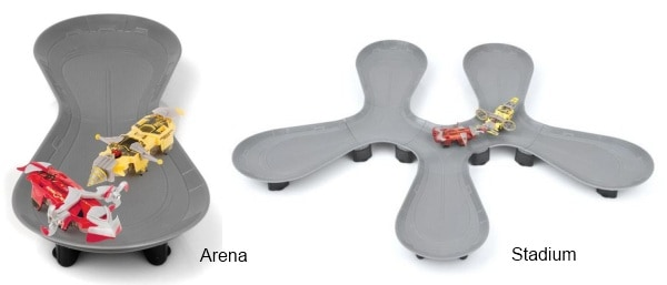 Hexbug Warriors Battle Arena and Battle Stadium