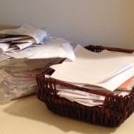 Tackle It Tuesday – Easy Tip to Hide Paperwork