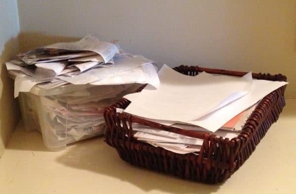 Easy Tip to Hide Paperwork