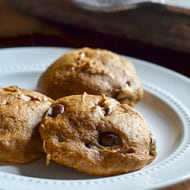 Pumpkin Chocolate Chip Muffin Top Cookies