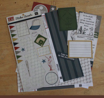 leftover page kit items