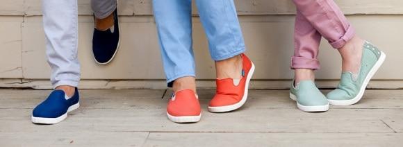 Blu Kicks colorful shoes