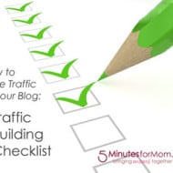 How to Get More Traffic to Your Blog — Traffic Building Checklist
