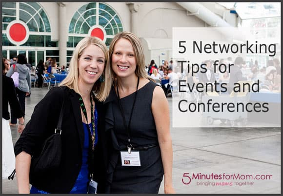 5 Networking Tips for Conferences
