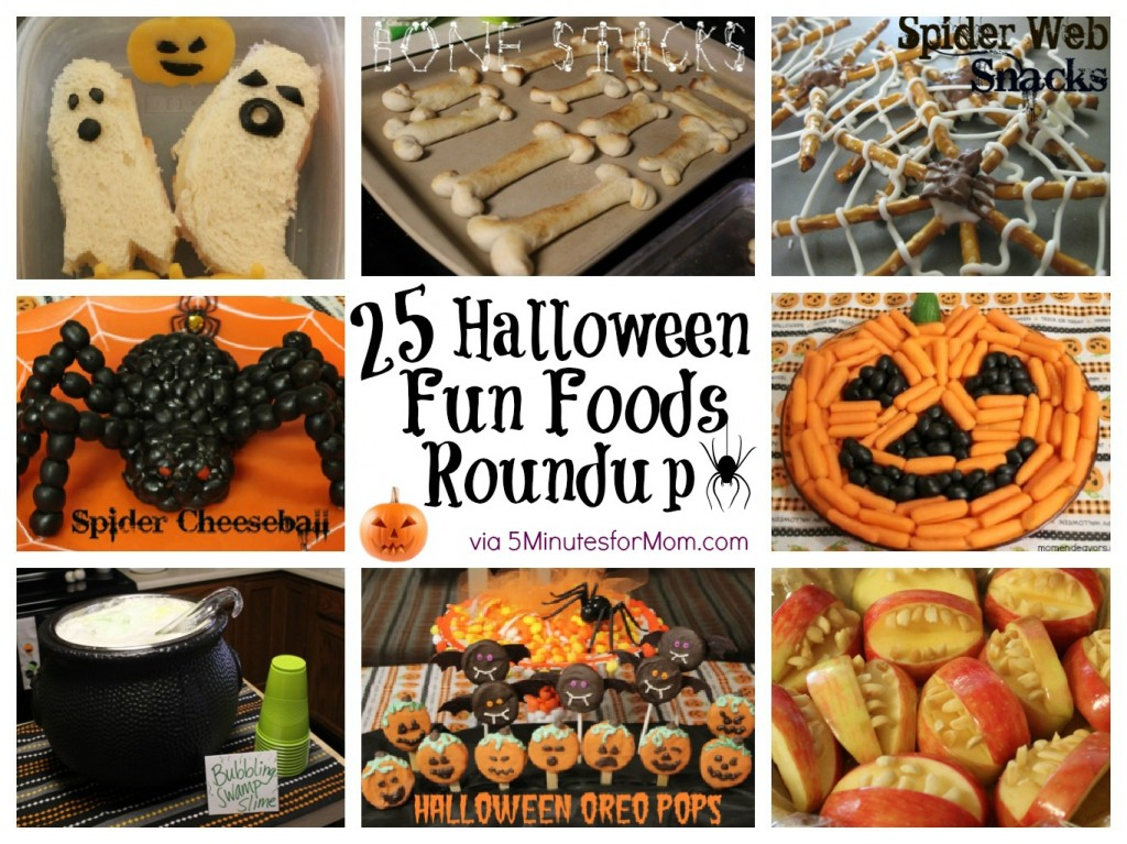 25 halloween fun food ideas - Halloween Kid Foods To Make