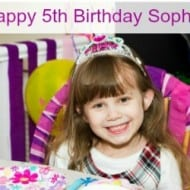 Happy 5th Birthday Sophia