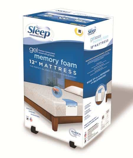 Kohl S And Sleep Innovations Partner To Bring You Mattress In A Box Gel Memory Foam