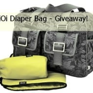 OiOi Diaper Bags: A Mix Between Fashion and Functionality (Giveaway)