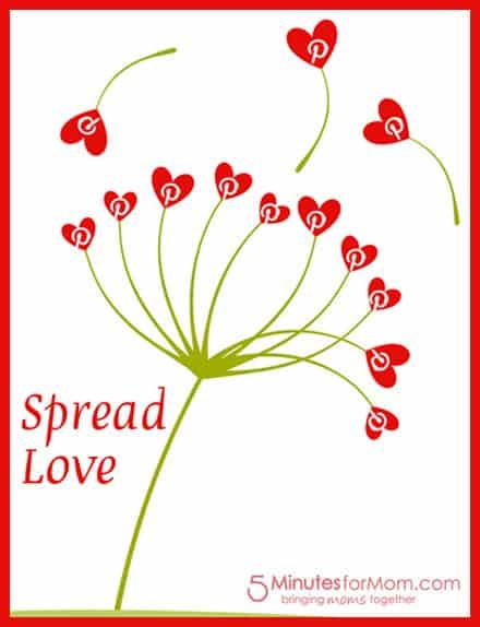 Pinterest Spread Love